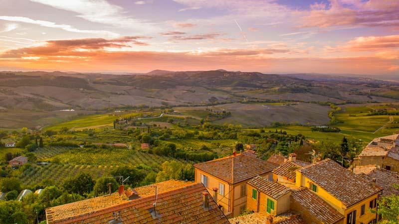 Luna de miel en Toscana