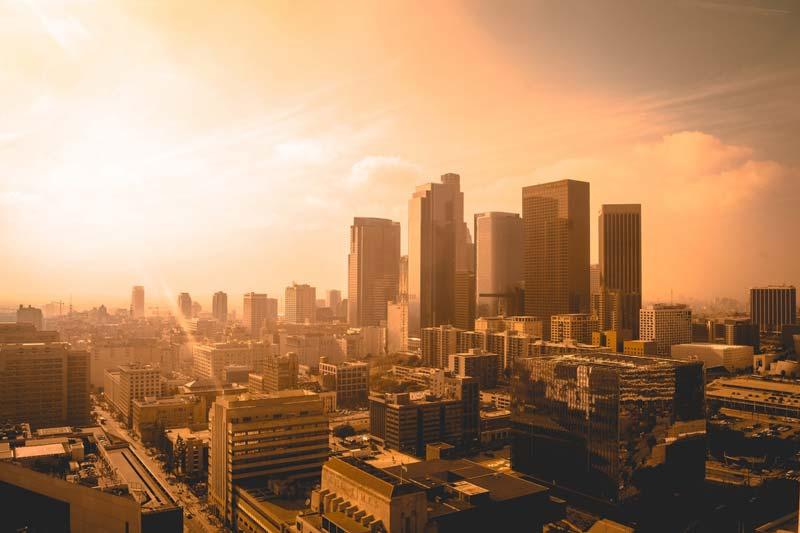Atardecer en Los Angeles