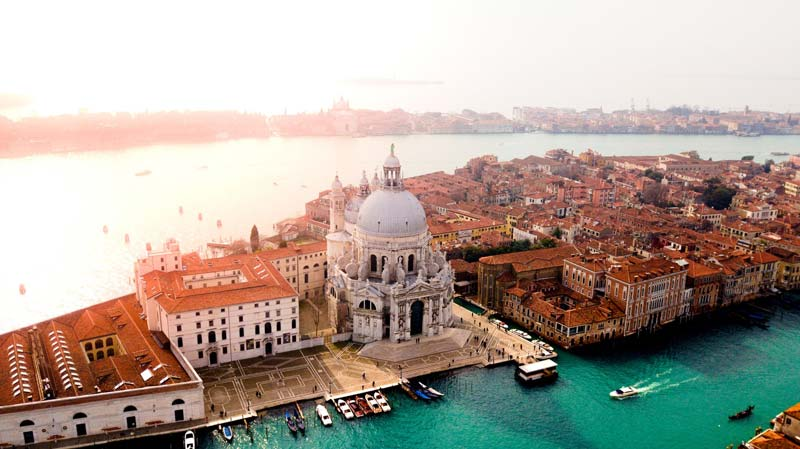 Parada de crucero en Venecia