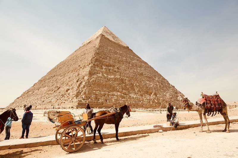 Viaje de novios a Egipto