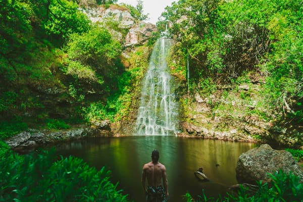 cascadas hawai