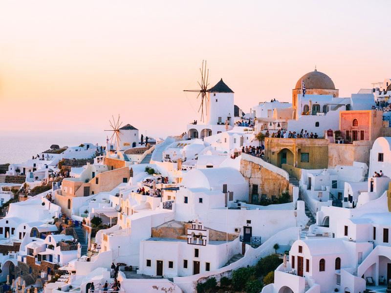 Viaje de novios a Grecia