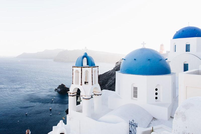 Luna de miel en Grecia