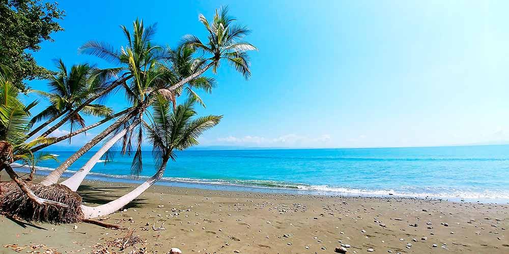 Playa del Caribe en Costa Rica