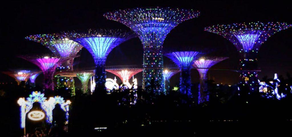 Luna de miel en Singapur