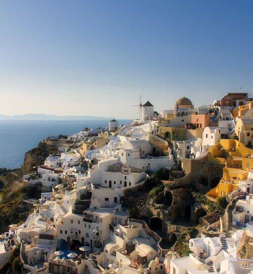 Mucho mas que novios. Grecia